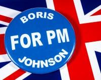Boris Johnson för premiärminister royaltyfri foto