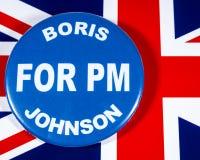 Boris Johnson för premiärminister royaltyfri fotografi
