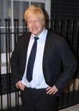 Boris Johnson at Madame Tussaud's royalty free stock photography