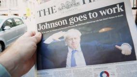 Boris Johnson transforma-se primeiro ministro BRITÂNICO de Reino Unido filme
