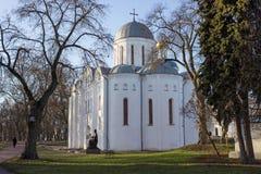 Boris Katedralny Chernihiv i Gleba, Ukraina Obraz Stock
