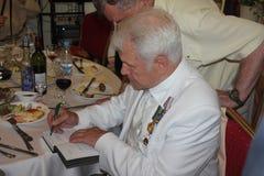 Boris Lagutin-Autogramme Lizenzfreie Stockfotos