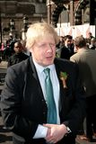boris mayor Johnson London Zdjęcie Royalty Free