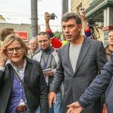 Boris Nemtsov - homem político do russo Fotografia de Stock