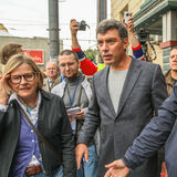 Boris Nemtsov - russian statesman Stock Photography
