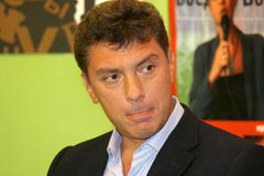 Boris Nemtsov Royalty Free Stock Photography