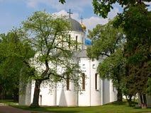 Boris och Gleb Cathedral i Chernigov, Ukraina Arkivbild