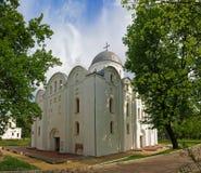 Boris och Gleb Cathedral i Chernigov, Ukraina Arkivfoton