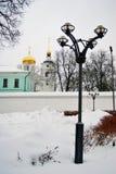 Boris och Gleb kloster i den Dmitrov staden, Moskvaregion, Ryssland royaltyfri bild