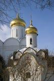 Boris och Gleb kloster i Dmitrov, forntida stad i Moskvaregion royaltyfria foton