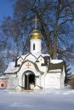 Boris och Gleb kloster i Dmitrov, forntida stad i Moskvaregion arkivfoton