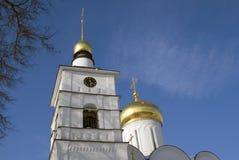 Boris och Gleb kloster i Dmitrov, forntida stad i Moskvaregion arkivfoto
