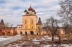 Boris och Gleb Monastery av Rostov royaltyfri bild