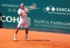 Boris Pashanski. During a match of ATP Genoa Open Challenger 2011 (Italy Stock Photo