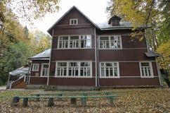 Boris Pasternak dacha house in Peredelkino, Moscow Stock Photo