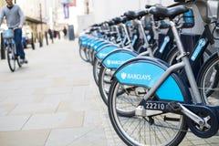 Boris rower Obraz Royalty Free