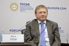 Boris Titov Στοκ Φωτογραφία