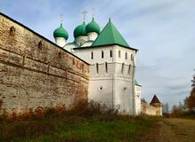 Borisogleb Monastery.  Yaroslavl region. Renovated structure of 16-17 centuries.