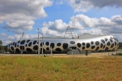Borissow-Arena in Weißrussland stockbilder