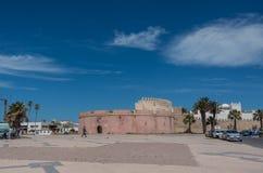 Borj Bab Marrakech bastion i Essaouira - Marocko Royaltyfri Foto