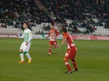 Borja García from match league Cordoba vs Girona Royalty Free Stock Photo