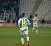 Borja García from match league Cordoba vs Girona Royalty Free Stock Photos