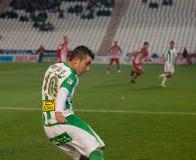 Borja García from match league Cordoba vs Girona Royalty Free Stock Photography
