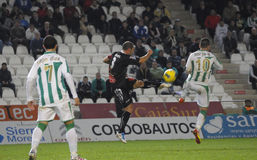 Borja Garcia from Córdoba C.F. Royalty Free Stock Image