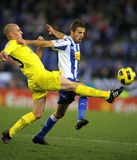 Borja Valero with Luis Garcia Royalty Free Stock Images