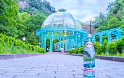 The Borjomi mineral water Stock Photos