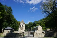 Borjomi Mtsvane monaster zdjęcia royalty free