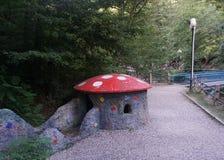 Borjomi Mushroom House royalty free stock photo