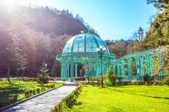 Borjomi park stock photos