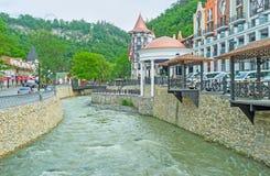 Borjomi spa resort Stock Photos