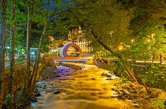 Borjomula river in the evening Royalty Free Stock Photos