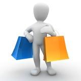 Borko Shopping. Borko to go shopping bags Royalty Free Stock Photos