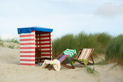 Borkum beach Royalty Free Stock Photos