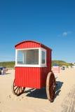 Borkum plaża Fotografia Royalty Free