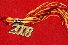 Borla 2008 de la graduación Imagenes de archivo