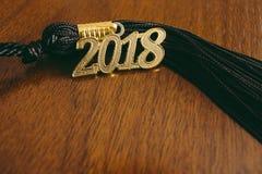 Borla 2018 da graduação fotografia de stock