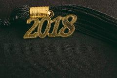 Borla 2018 da graduação imagens de stock