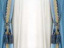 Borla de la cortina de la elegancia Imagen de archivo
