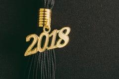 Borla 2018 de la graduación fotos de archivo
