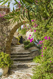 Bormes les mimosas. Is a flowery village Royalty Free Stock Photography