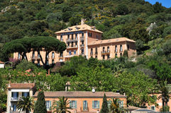Free Bormes Les Mimosas, France - April 18 2016 : The Picturesque Old Stock Image - 72770011