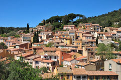 Free Bormes Les Mimosas, France - April 18 2016 : The Picturesque Old Stock Image - 72899201