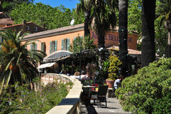 Free Bormes Les Mimosas, France - April 18 2016 : The Picturesque Old Stock Photos - 72981513