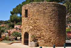 Free Bormes Les Mimosas, France - April 18 2016 : The Picturesque Old Stock Photo - 76203310