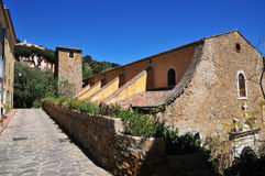 Bormes les Mimosas, France - april 18 2016 : the picturesque old Stock Photo