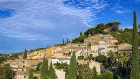 Bormes-les-Mimosas in France Stock Images